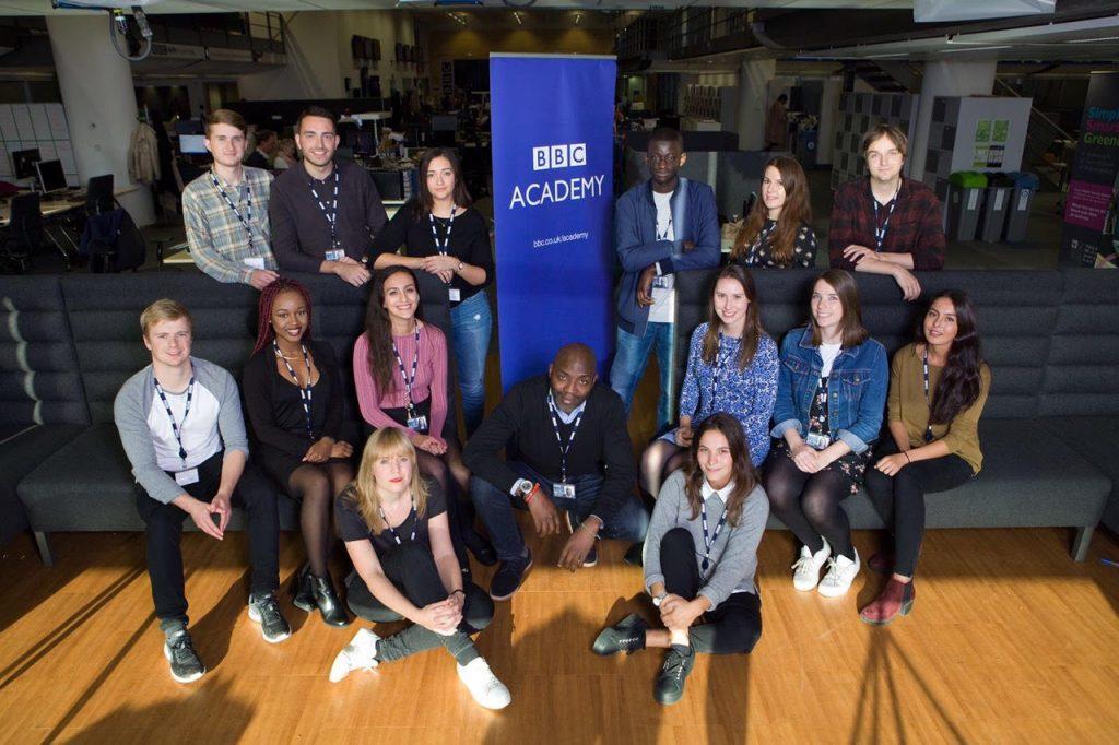 Nasim joins the BBC Academy