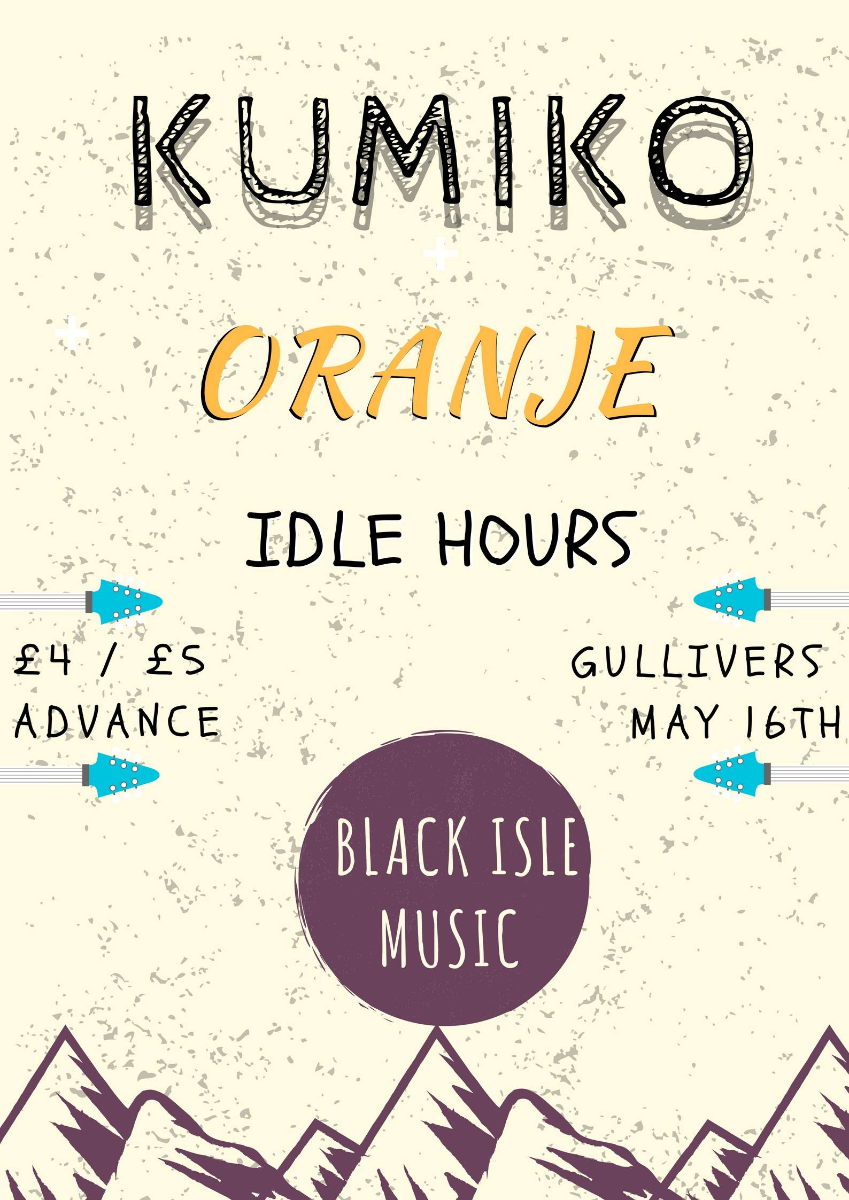 Kumiko with Oranje & Idle Hours
