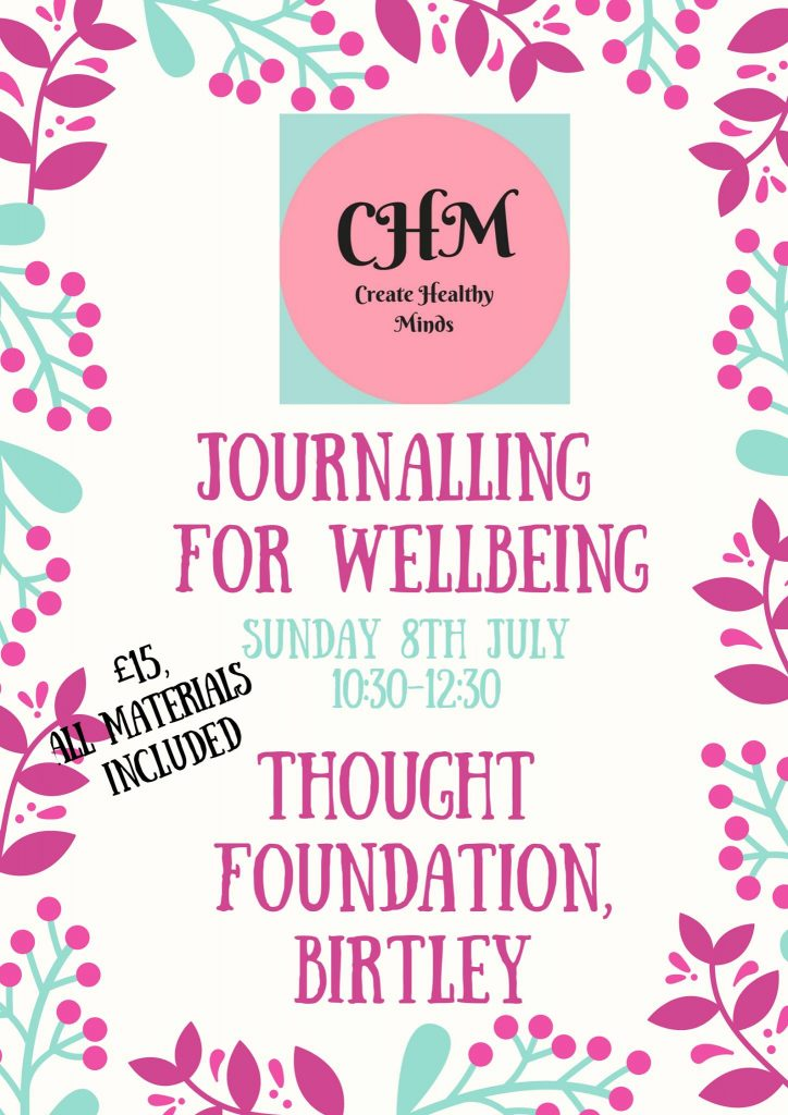 Journalling for Wellbeing