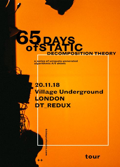 65daysofstatic Tour