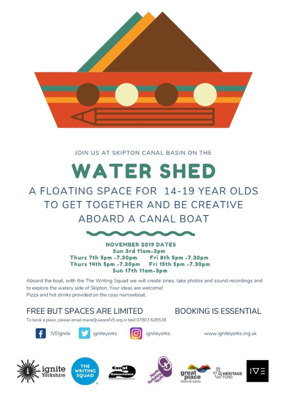 Join Us On The Water Shed