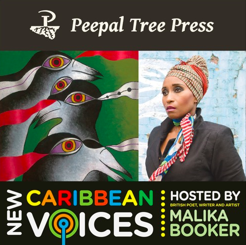 Malika Hosts Caribbean Voices