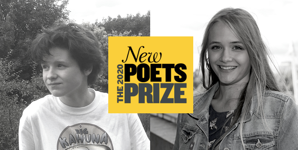 Lauren and Georgie Win New Poets Prize