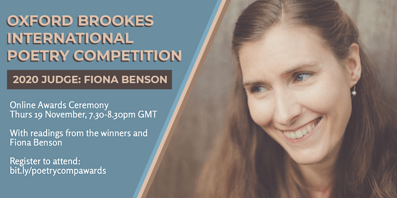 Oxford Brookes International Poetry Competition Awards