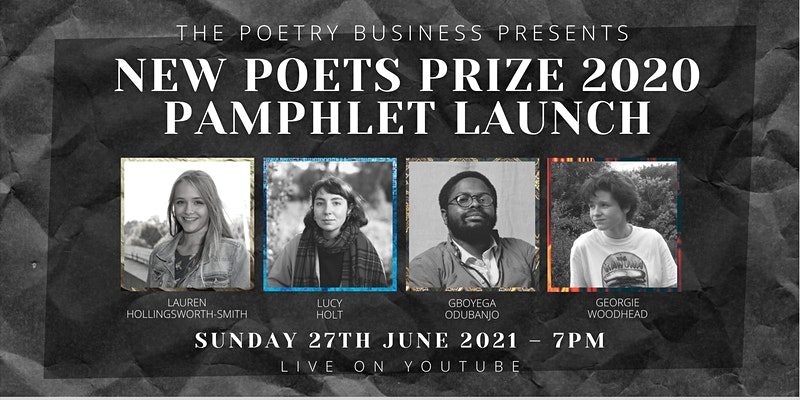 New Poets Prize Pamphlets Launch